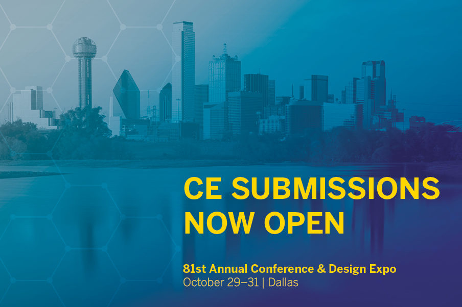 CE Submissions Now Open